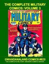 Cover for Gwandanaland Comics (Gwandanaland Comics, 2016 series) #823 - The Complete Military Comics: Volume 3