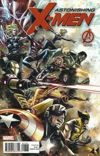 Cover Thumbnail for Astonishing X-Men (Marvel, 2017 series) #7 [Marco Checchetto Cover]