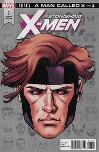 Cover Thumbnail for Astonishing X-Men (Marvel, 2017 series) #7 [Incentive Mike McKone Legacy Headshot Cover]