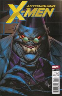 Cover Thumbnail for Astonishing X-Men (Marvel, 2017 series) #1 [Dale Keown 'Villain']