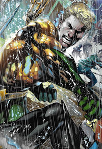 Cover Thumbnail for Aquaman by Geoff Johns Omnibus (DC, 2018 series)