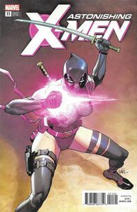 Cover Thumbnail for Astonishing X-Men (Marvel, 2017 series) #11 [Leinil Francis Yu 'Deadpool']