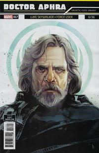 Cover Thumbnail for Doctor Aphra (Marvel, 2017 series) #17 [Rod Reis 'Galactic Icon' (Luke Skywalker)]
