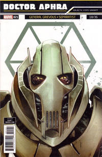 Cover Thumbnail for Doctor Aphra (Marvel, 2017 series) #21 [Rod Reis 'Galactic Icon' (General Grievous)]