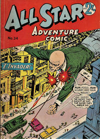 Cover Thumbnail for All Star Adventure Comic (K. G. Murray, 1959 series) #34
