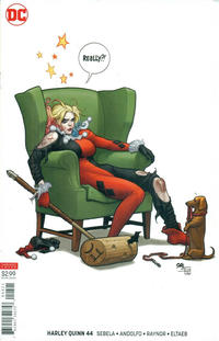 Cover Thumbnail for Harley Quinn (DC, 2016 series) #44 [Frank Cho Variant Cover]