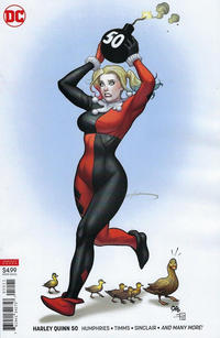 Cover Thumbnail for Harley Quinn (DC, 2016 series) #50 [Frank Cho Cover]