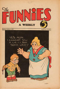 Cover Thumbnail for The Funnies (Dell, 1929 series) #35