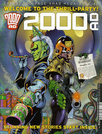 Cover Thumbnail for 2000 AD (Rebellion, 2001 series) #2111