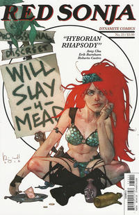 Cover Thumbnail for Red Sonja (Dynamite Entertainment, 2016 series) #23 [Cover A Ben Caldwell]