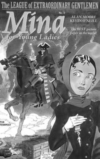 Cover Thumbnail for The League of Extraordinary Gentlemen: The Tempest (Top Shelf Productions / Knockabout Comics, 2018 series) #3 [Incentive Sketch Cover]