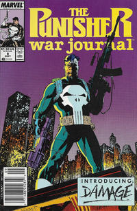 Cover Thumbnail for The Punisher War Journal (Marvel, 1988 series) #8 [Newsstand]