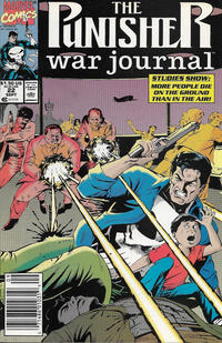 Cover Thumbnail for The Punisher War Journal (Marvel, 1988 series) #22 [Newsstand]
