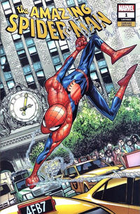 Cover Thumbnail for Amazing Spider-Man (Marvel, 2018 series) #1 (802) [Variant Edition - Fan Expo Boston 2018 Exclusive - Humberto Ramos Cover]