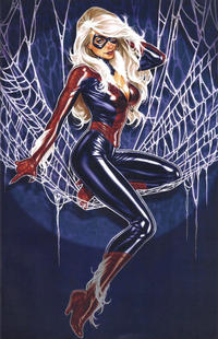 Cover Thumbnail for Amazing Spider-Man (Marvel, 2018 series) #1 (802) [Variant Edition - Comic Sketch Art Exclusive 'Black Cat Spider-Suit' - Mark Brooks Cover]