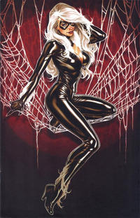 Cover Thumbnail for Amazing Spider-Man (Marvel, 2018 series) #1 (802) [Variant Edition - Comic Sketch Art Exclusive 'Black Cat' - Mark Brooks Virgin Cover]