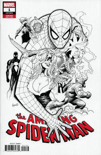 Cover for Amazing Spider-Man (Marvel, 2018 series) #1 (802) [Regular Edition - Ryan Ottley Wraparound Cover]