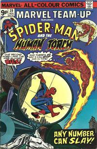 Cover Thumbnail for Marvel Team-Up (Marvel, 1972 series) #39 [British]