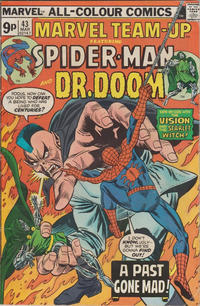 Cover Thumbnail for Marvel Team-Up (Marvel, 1972 series) #43 [British]