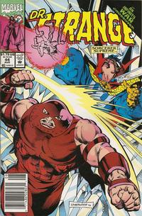 Cover Thumbnail for Doctor Strange, Sorcerer Supreme (Marvel, 1988 series) #44 [Newsstand]