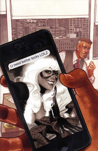 Cover Thumbnail for Amazing Spider-Man (Marvel, 2018 series) #1 (802) [Variant Edition - Comic Sketch Art Exclusive - Adam Hughes Black and White Cover]