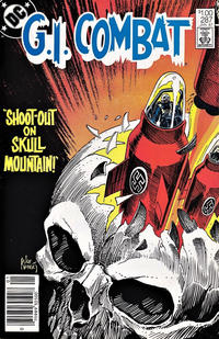 Cover Thumbnail for G.I. Combat (DC, 1957 series) #287 [Canadian]