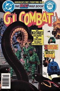 Cover Thumbnail for G.I. Combat (DC, 1957 series) #262 [Canadian]