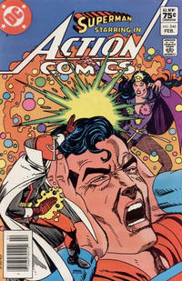 Cover Thumbnail for Action Comics (DC, 1938 series) #540 [Canadian]