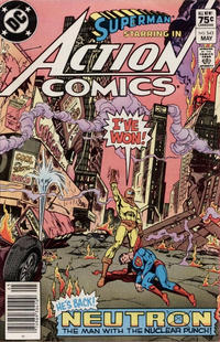 Cover Thumbnail for Action Comics (DC, 1938 series) #543 [Canadian]
