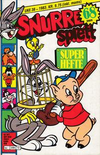 Cover Thumbnail for Snurre Ekstra (Allers Forlag, 1965 series) #Superhefte 1983