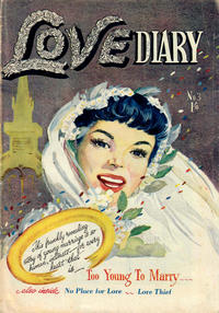 Cover Thumbnail for Love Diary (Horwitz, 1950 ? series) #3