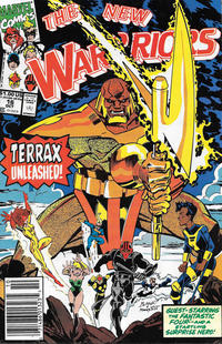 Cover Thumbnail for The New Warriors (Marvel, 1990 series) #16 [Newsstand]
