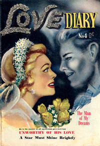 Cover Thumbnail for Love Diary (Horwitz, 1950 ? series) #4