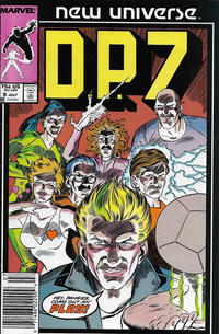 Cover Thumbnail for D.P. 7 (Marvel, 1986 series) #9 [Newsstand]
