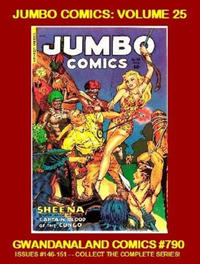 Cover Thumbnail for Gwandanaland Comics (Gwandanaland Comics, 2016 series) #790 - Jumbo Comics: Volume 25
