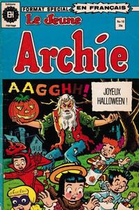 Cover Thumbnail for Le Jeune Archie (Editions Héritage, 1976 series) #10
