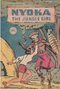 Cover Thumbnail for Nyoka the Jungle Girl (Cleland, 1949 series) #43