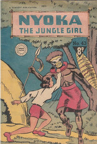 Cover Thumbnail for Nyoka the Jungle Girl (Cleland, 1949 series) #43