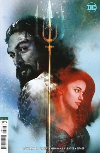 Cover for Aquaman (DC, 2016 series) #42 [Eduardo Pansica & Eber Ferreira Cover]