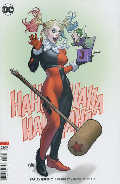 Cover for Harley Quinn (DC, 2016 series) #51 [Frank Cho Cover]