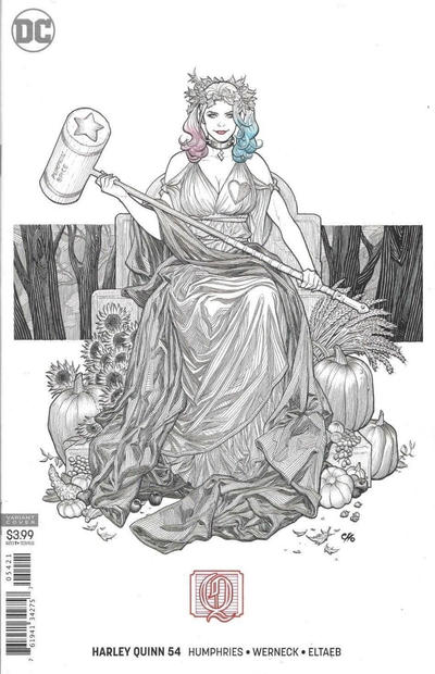 Cover for Harley Quinn (DC, 2016 series) #54 [Frank Cho Cover]