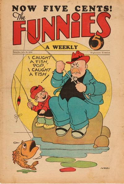 Cover for The Funnies (Dell, 1929 series) #23