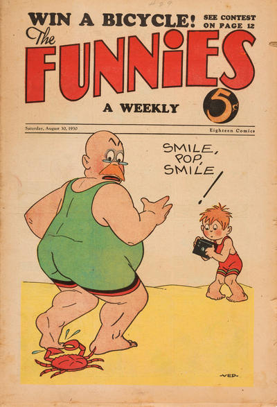 Cover for The Funnies (Dell, 1929 series) #29
