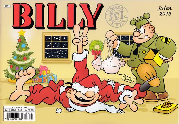 Cover for Billy julehefte (Hjemmet / Egmont, 1970 series) #2018
