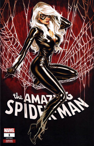Cover for Amazing Spider-Man (Marvel, 2018 series) #1 (802) [Variant Edition - Current Style Logo - Jamal Campbell Cover]