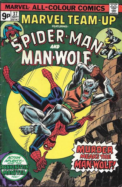 Cover for Marvel Team-Up (Marvel, 1972 series) #37