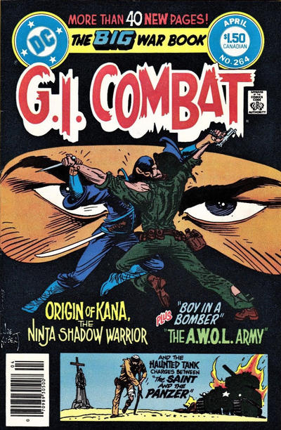 Cover for G.I. Combat (DC, 1957 series) #264 [Direct]
