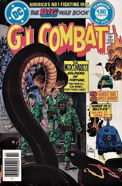 Cover for G.I. Combat (DC, 1957 series) #262 [Direct]