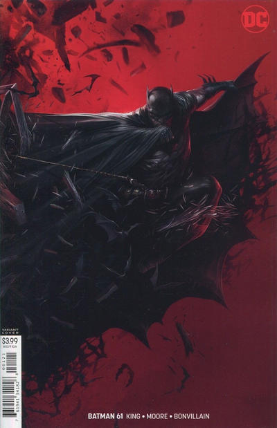 Cover for Batman (DC, 2016 series) #61 [Francesco Mattina]