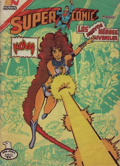 Cover for Supercomic (Editorial Novaro, 1967 series) #313